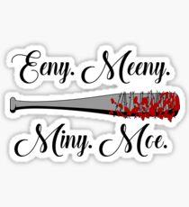 The Walking Dead - Lucille Eeny Meeny Sticker