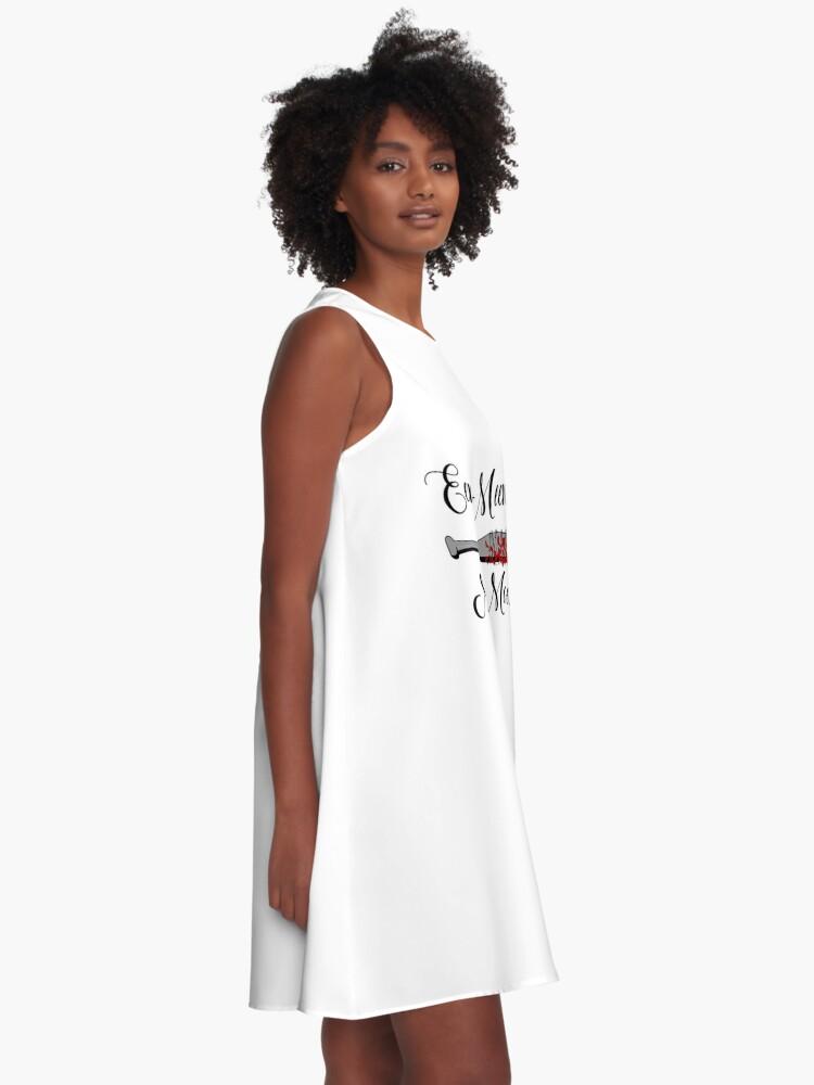 Alternative Ansicht von Die Walking Dead - Lucille Eeny Meeny A-Linien Kleid