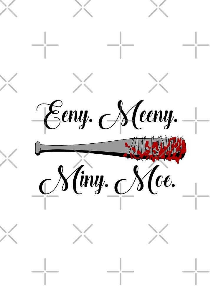 Die Walking Dead - Lucille Eeny Meeny von engyles