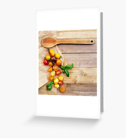 Tomato Still Life 2 Greeting Card