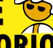Be Glorious Steam PC Master Race Geek Sticker