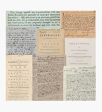 Alexander Hamilton Papers Collection Photographic Print