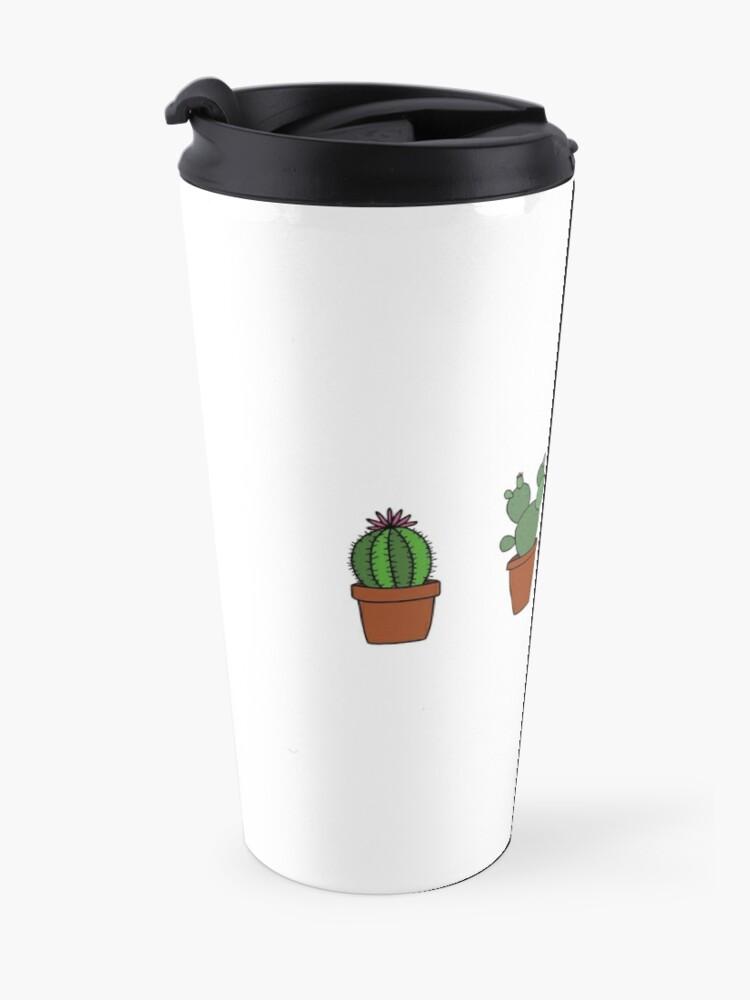 Vista alternativa de Taza de viaje Cactus