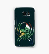 SOUTH AFRICA SPIDER SKULL FLAG Samsung Galaxy Case/Skin