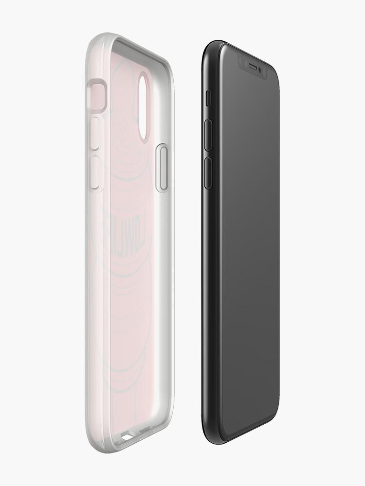Alternative Ansicht von Einfache Luft [Schwarz Mono] iPhone-Hülle & Cover