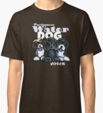 Portuguese Water Dog Lover (Dark) Classic T-Shirt