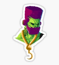 TrapJaw - Rappers of the Universe [He-Man] Glossy Sticker