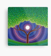 Happy Tree of Life Metal Print