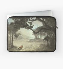 Fox in the Clearing Laptop Sleeve