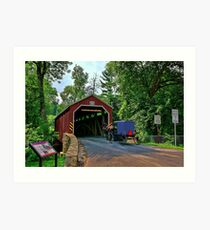 The Bridges of Lancaster County, PA Art Print
