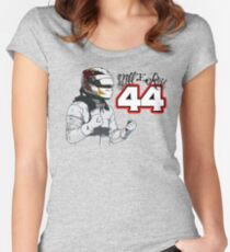 Lewis Hamilton - Still I Rise Women's Fitted Scoop T-Shirt