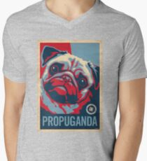 P*R*O*P*U*G*A*N*D*A Men's V-Neck T-Shirt