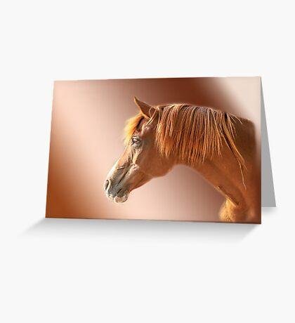 Arabian Portrait Greeting Card