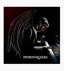 Lucifer at the Piano Photographic Print