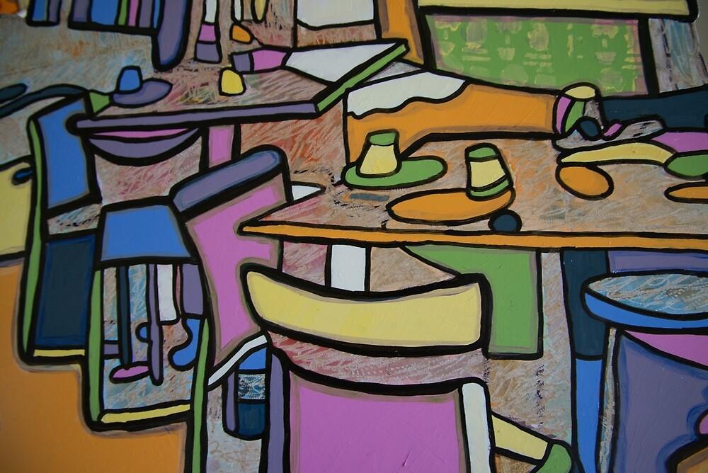 Urban Culture - Cafe Life by Rachel Rovay