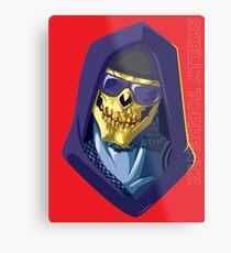 Skeletor - Rappers of the Universes [Heman] Metal Print