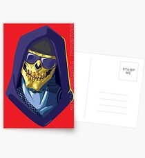 Skeletor - Rappers of the Universes [Heman] Postcards