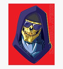 Skeletor - Rappers of the Universes [Heman] Photographic Print
