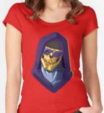 Skeletor - Rappers of the Universes [Heman] Women's Fitted Scoop T-Shirt