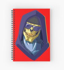 Skeletor - Rappers of the Universes [Heman] Spiral Notebook