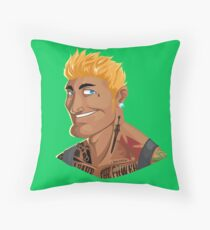 HE-MAN & the Rappers of the Universe Throw Pillow