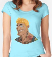 HE-MAN & the Rappers of the Universe Women's Fitted Scoop T-Shirt