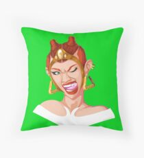 Teela - Rappers of the Universe [He-Man] Throw Pillow
