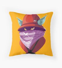 Orko Rappers of the Universe [He-Man] Throw Pillow