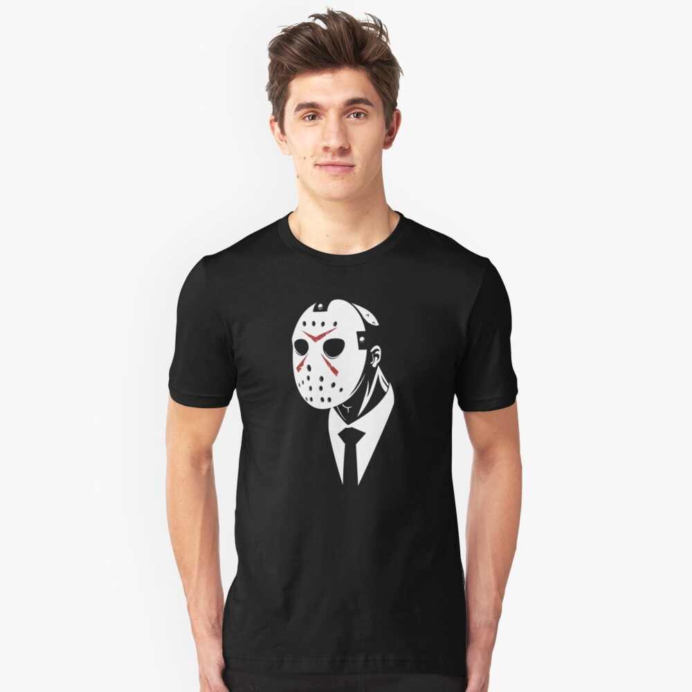 Friday the 13th - Dapper Jason Gore Quarterly Unisex T-Shirt Front