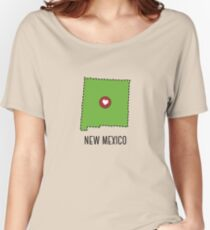 New Mexico State Heart Women's Relaxed Fit T-Shirt
