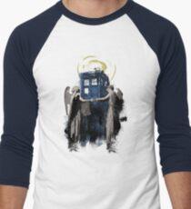 Wibbly Wobbly Blinky Winky Men's Baseball ¾ T-Shirt
