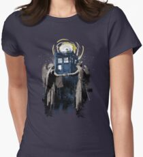 Wibbly Wobbly Blinky Winky Women's Fitted T-Shirt