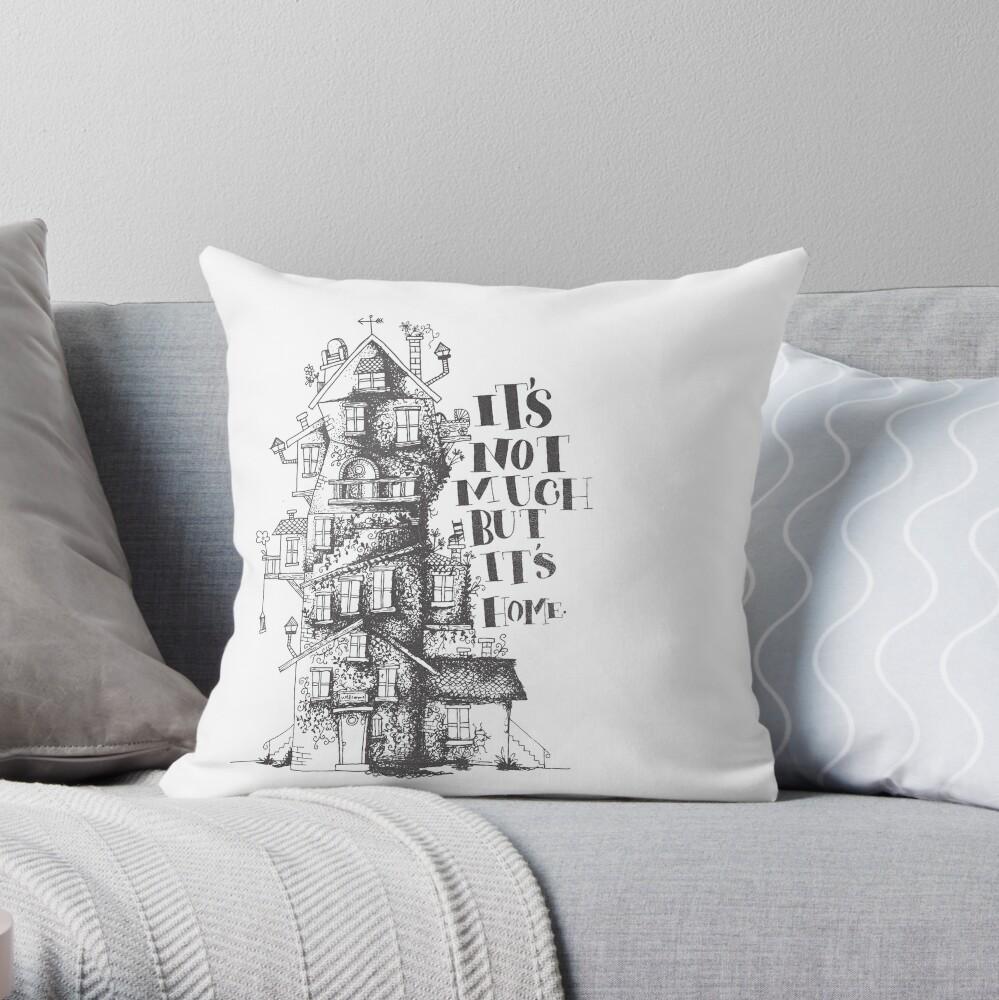 the burrow Throw Pillow