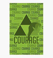 Courage, Legend of Zelda Photographic Print