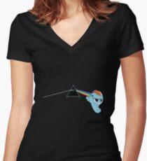 Rainbowdash Women's Fitted V-Neck T-Shirt