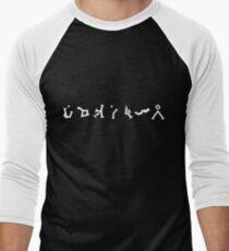 Camiseta ¾ bicolor para hombre Stargate SG1 Dirección