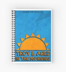 Community - Troy and Abed in the morning Spiral Notebook