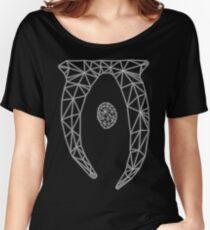80's Cyber Oblivion and Skyrim Elder Scrolls Logo Women's Relaxed Fit T-Shirt