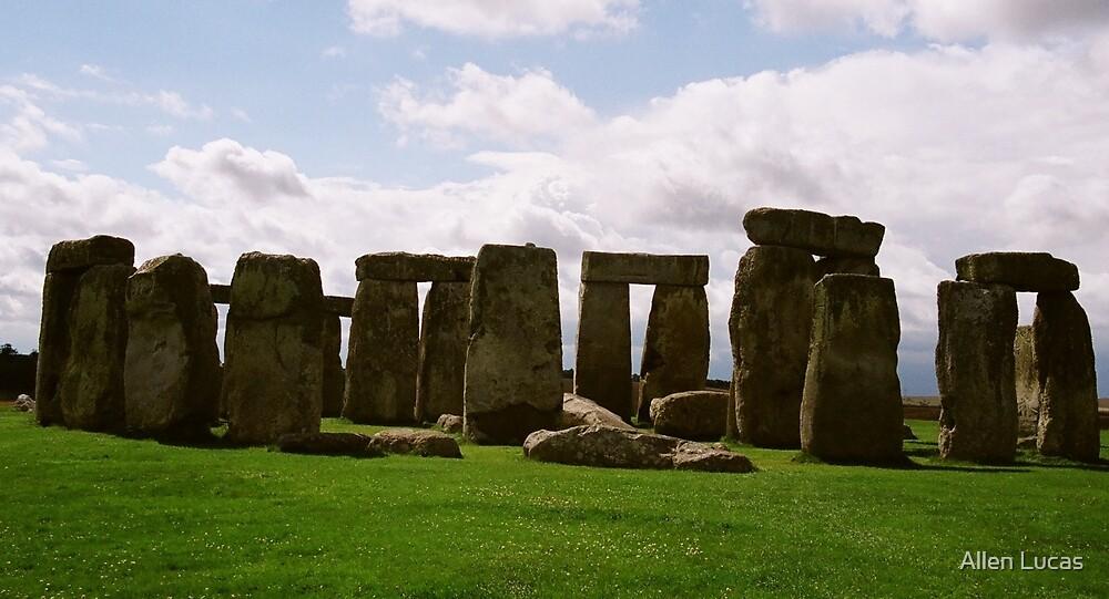 Stonehenge, Wiltshire, England by Allen Lucas
