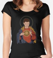 Our Lady 11  Women's Fitted Scoop T-Shirt
