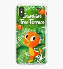 Sunshine Tree Terrace - Home of the Orange Bird iPhone Case/Skin
