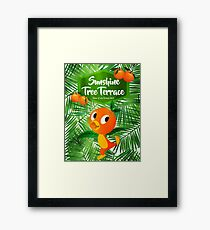 Sunshine Tree Terrace - Home of the Orange Bird Framed Print