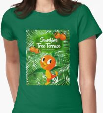 Sunshine Tree Terrace - Home of the Orange Bird Womens Fitted T-Shirt