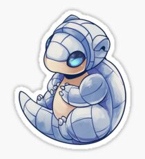 Icy Sandshrew Sticker