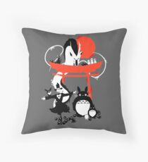 Studio Ghibli Throw Pillow