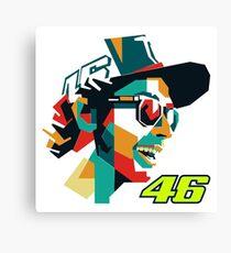 Valentino Rossi MotoGP - The Doctor VR46 Canvas Print
