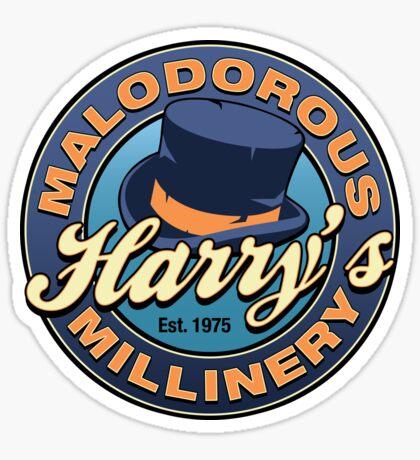 Harry's Malodorous Millinery Sticker