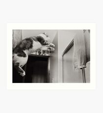 Moments With Max #2 Art Print