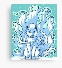 Ice Ninetails Canvas Print
