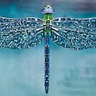 Dragonfly by samcannonart
